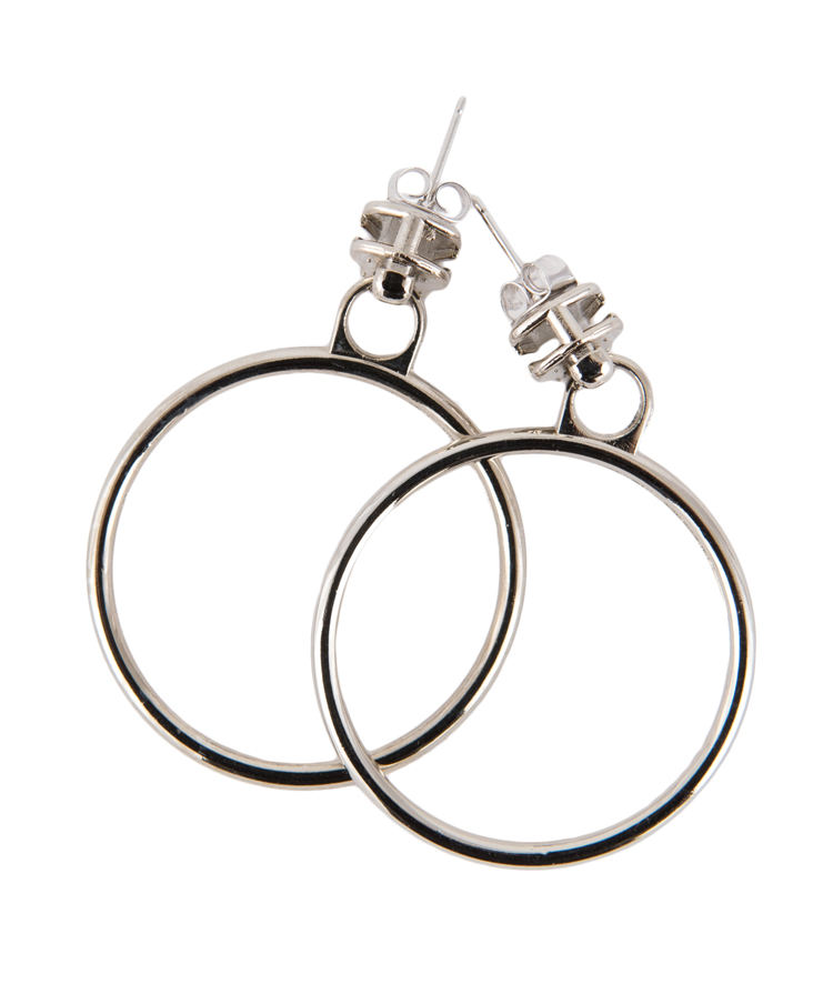 Simple O-Ring Earrings