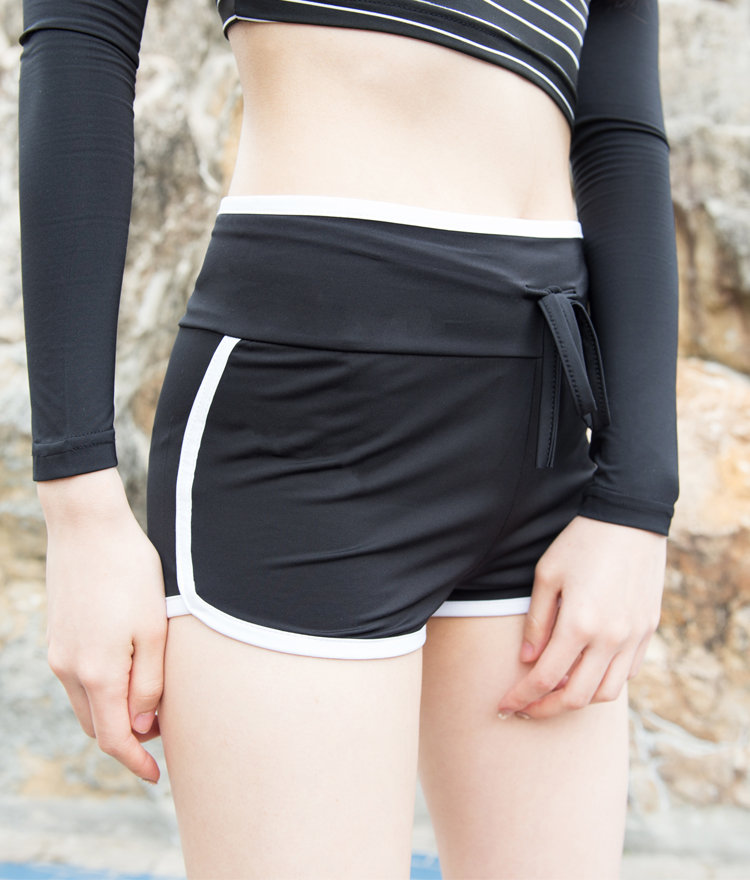Contrast Trim Swim Shorts